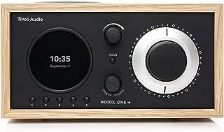 Tivoli Audio Model One+ FM/DAB+ radio met Bluetooth en afstandsbediening, eiken/zwart