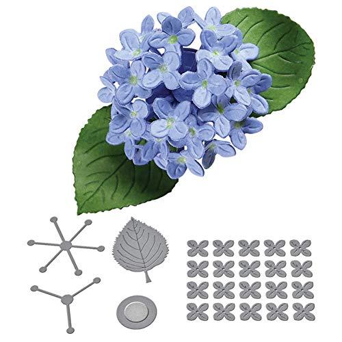 Stanssjabloon voor het knutselen van foto's voor scrapbooking, 3D, kleine bloesem-matrissen sterven metalen sjablonen voor wenskaarten, knutselen