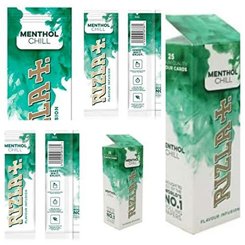 Rizla Flavour Infusions Menthol Chill Karten, 25 Stück