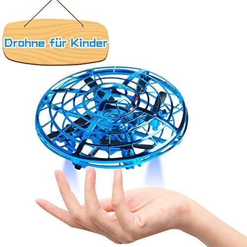 Flashbee F17 Mini Drohnen für Kinder,handgesteuert,UFO Pocket Quadrocopter,Infrarot,Höhenlage,Indoor Outdoor,Shake & Throw to Fly für Anfänger und Kinder