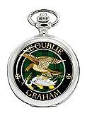 Graham Scottish Clan Crest Full Hunter Reloj de bolsillo