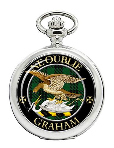 Graham Taschenuhr mit schottischem Clan-Wappen