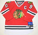 Reebok Jonathan Toews Chicago Blackhawks NHL Youth Kinder Premier Jersey Trikot - Red -