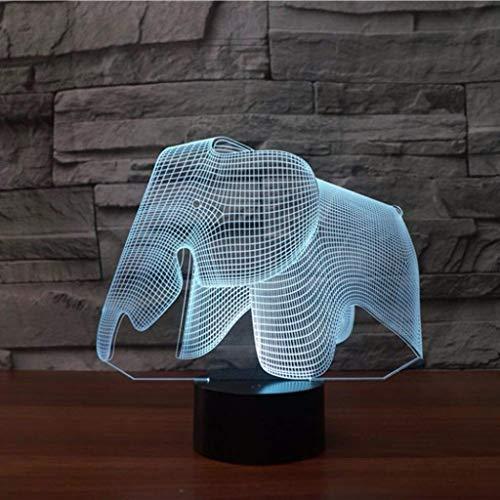 YJLGRYF LFKB1234 3D-Sicht Led-Nachtlicht USB-Gebühr Nachttischlampe Schlafzimmer Bücherregal Nachtlicht-Ausgangsdekor-kreatives Geschenk