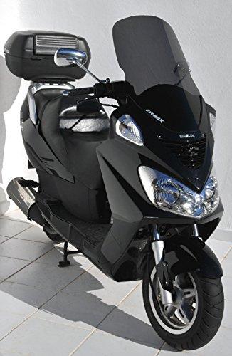 Ermax Hoher Windschild für Motorroller Daelim 125 S2, Baujahr 2006 - 2010, Grau