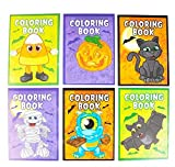 Halloween Coloring Books Pack of 12