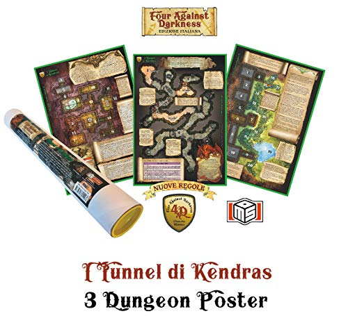 Four Against Darkness I Tunnel Di Kendras - 3 poster