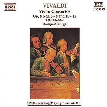 Vivaldi: Violin  Concertos Op. 8, Nos. 5-8 and 10-12