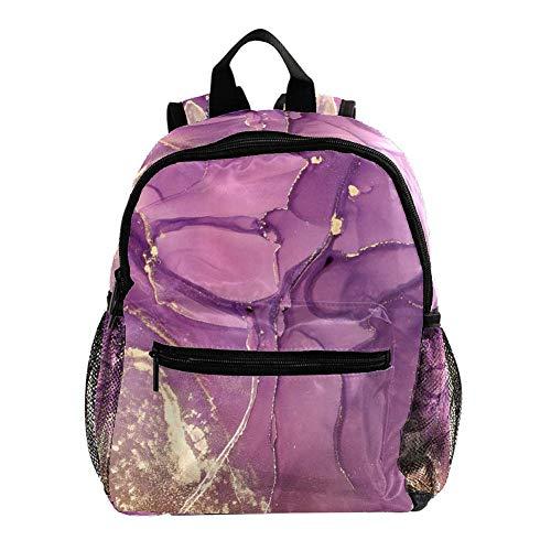 Mochila Escolar Romance Misterioso púrpura Cosyres Mochila para Niños Guarderia Niño Mochila Escolar Infantil Bebe 25.4x10x30 CM