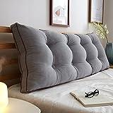 Uus Big BedHead Kissen Soft & Bequeme Rückenlehne Schöne Home Decoration Square Pattern Wasit Care...