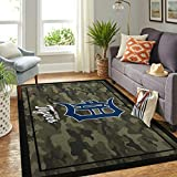 Det-roi-t Ti-g-ers Area Rugs Camo Style Area Rugs Non Slip Play Area Rug Runner Rug for Hallway Bedroom Bathroom Outdoor Living Room Rugs Floor 2x3 3x5 4x6 5x8 Area Rug