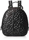 ARMANI EXCHANGE Logo Texture Backpack - Borse a zainetto Donna, Nero (Black), 10x10x10 cm (W x H L)