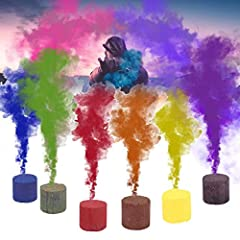 【Colorful Effect Smoke Cake】How could you create the colorful fog when you intend to take a photo or so on? With the help of this smoke cake, this is just a piece of cake, as it could create the fog that comes with 6 colors. You can choose from every...