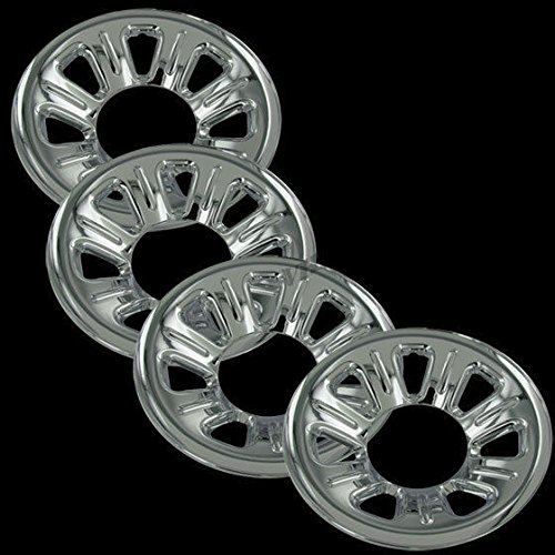 Chrome 15' Hub Cap Wheel Skins for Ford Ranger - Set of 4