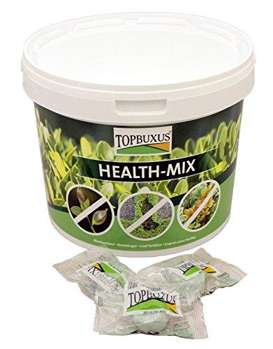 TOPBUXUS Health-Mix Neuartiger Blattdünger für Buchsbäume (100 Tabletten) - Profi-Buxbaumpflege