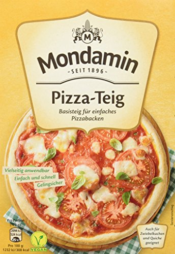 Mondamin Pizza-Teig, 1er-Pack (1 x 460 g)