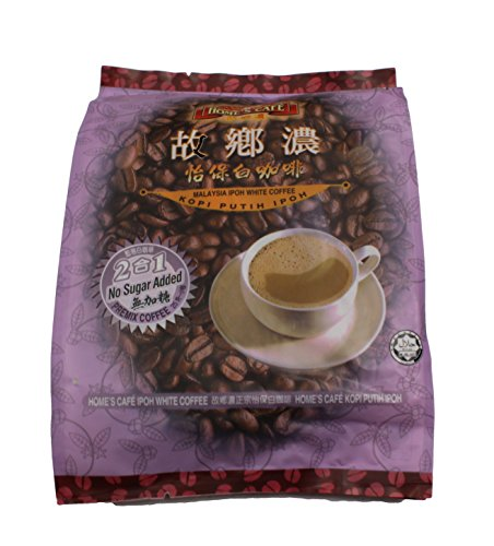 Home's Cafe Malaysia 2in1 Ipoh White Coffee (Kaffee + Creamer) 25g x 15-Stick