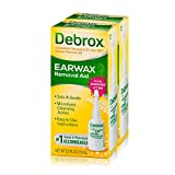 Debrox Earwax Removal Drops Earwax, 0.5 Fl Oz (Pack of 2)
