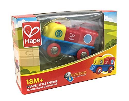 HAPE - E3820 - Circuit de Train en Bois - Petit Locomotive à Moteur
