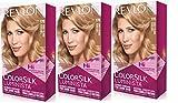 Revlon Colorsilk Luminista Haircolor, Honey Blonde, 3 Count
