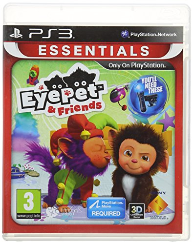 EyePet & Friends: PlayStation 3 Essentials (PS3) - [Edizione: Regno Unito]