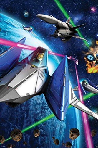 Pyramid America Star Fox Space Battle Fox McCloud Arwing Super Nintendo 64 3DS Video Game Cool Wall Decor Art Print Poster 24x36