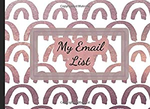 My Email List: Hairstylist, Salon, Nail Technicians, Facialist Color Interior Client Log Book Guestbook