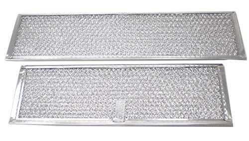 Broan S97009787 Downdraft Vent Grease Filter, 2-Pack Genuine Original Equipment Manufacturer (OEM) Part