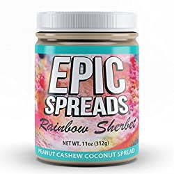 Epic Spreads Nut Butter (Rainbow Sherbet)