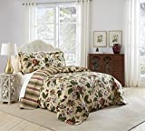 Waverly Laurel Springs Bedspread Collection, King/Cal King...