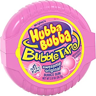 Hubba Bubba Original Bubble Gum Tape, 2 ounce