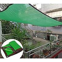 シェードネット、屋外テラス/ガーデンシェードセイル、植物/花保護ネット、日光耐性と シェードクロス、カスタマイズ可能な耐引裂性シェードネットカバー、グリーン,8x10m(26*33ft)