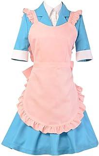 LJ123 Anime Danganronpa Yukizome Chisa Uniform Maid Dress Cosplay Costume Outfit per Le Donne Ragazze