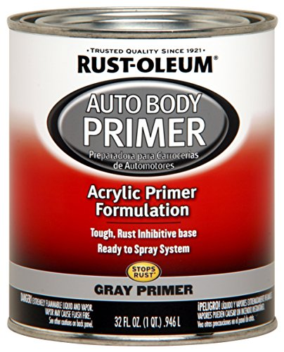 Rust-Oleum 275234 Brilliant Silver Automotive Auto Body Paint - 32 oz. - 2 Pack
