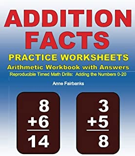 addition number facts worksheets