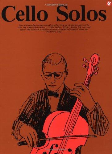 Cello Solos (Album): Noten, Solostimme für Cello, Klavier