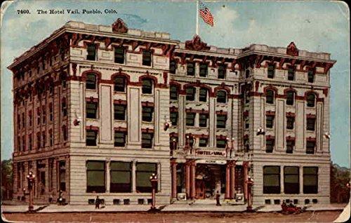 The Hotel Vail Pueblo, Colorado CO Original Vintage Postcard