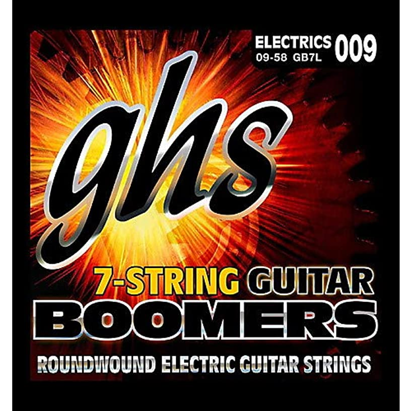 GB7L Boomers 7-String Electric Guitar Strings- Pack of 3