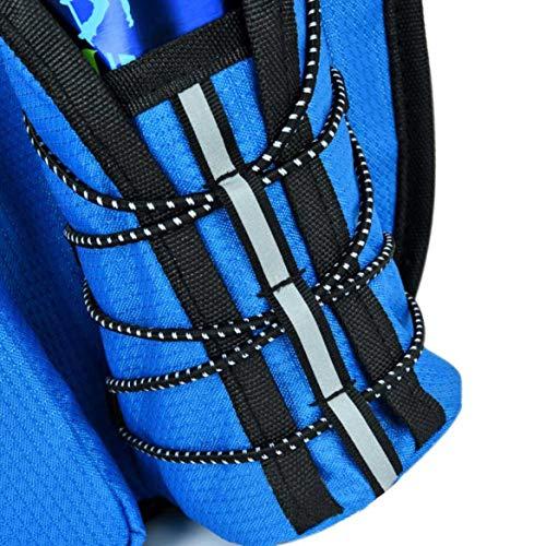 AWJ03 Sac de Course à Pied, Sac de Sport, Multifonctionnel, Sac de Ceinture réglable - Bleu