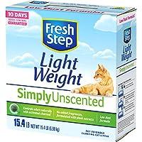 Fresh Step Lightweight Unscented Clumping Cat Litter, 15.4 lb