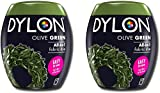 Dylon 350 g Olivgrün Maschine Färbemittel Pod 2 Pack,