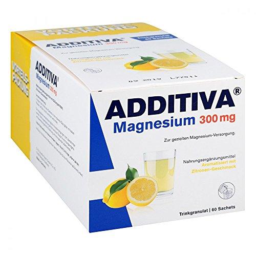 ADDITIVA Magnesium 300 mg Sachets, 60 St. Beutel