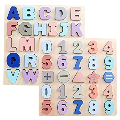 GEMEM Alphabet and Number Puzzle Set
