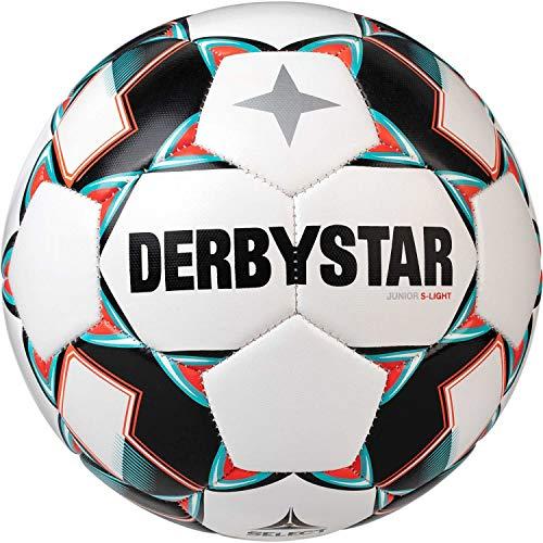 Derbystar Kinder Junior S-Light, 1722500142 Fußball, Weiss Gruen schwarz, 5