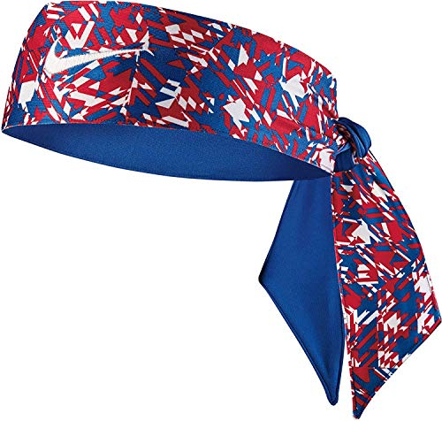 Nike Women's Printed Dri-FIT 2.0 Head Tie (University Red)