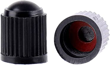 Fasmov 500 Pack Tire Stem Valve Caps with O Rubber Ring, Universal Stem Covers for for Car, Motorbike, Trucks, Bike and Bicycle