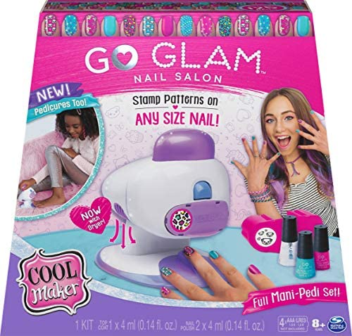 Cool Maker GO Glam Nail Stamper Salon for Manicures and Pedicures with 5 Patterns and Nail Dryer product image