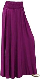 FAMILIZO Faldas Largas Y Elegantes Faldas Cortas Mujer Verano Faldas Mujer Invierno Primavera Vestidos D/ía De San Patricio De Mujeres Tr/ébol Impreso Falda Midi Acampanada