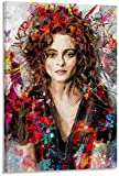 Posters Helena Bonham Carter Painting HD Canvas Art and