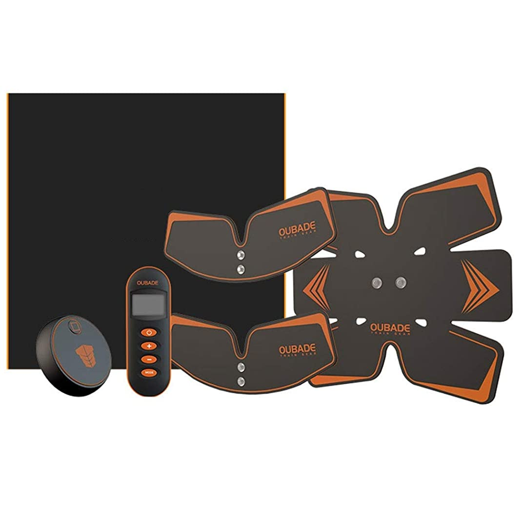 オーロック延期するおとこスマートベルト腹部楽器腹部筋肉ペースト男性と女性筋肉トレーニング器具腹部怠惰な腹部筋肉フィットネス機器 (Size : A)